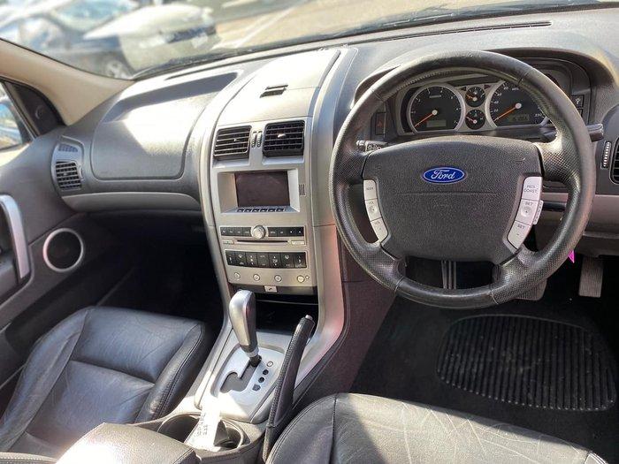 2009 Ford Territory Ghia SY MKII Grey