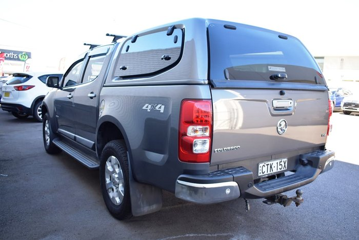 2014 Holden Colorado LTZ RG MY14 4X4 Dual Range Grey