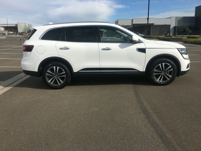 2018 Renault Koleos Intens HZG Four Wheel Drive SOLID WHITE