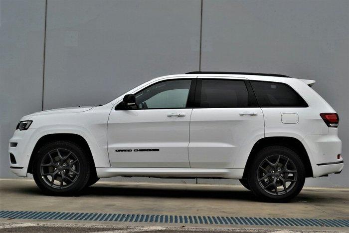 2020 Jeep Grand Cherokee S-Limited WK MY20 4X4 Dual Range BRIGHT WHITE PETROL