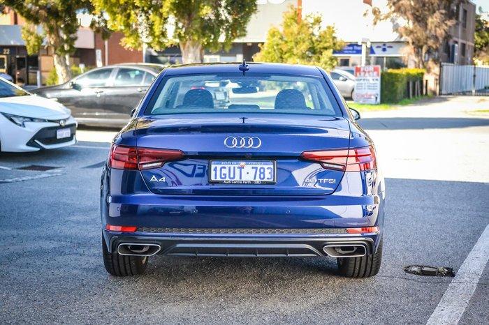2019 Audi A4 40 TFSI B9 MY19 Blue