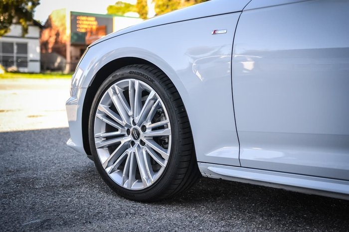 2019 Audi A4 40 TFSI B9 MY19 White