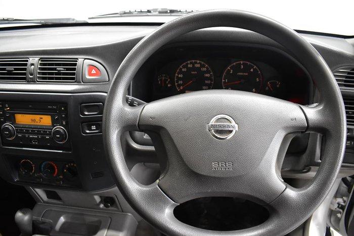 2013 Nissan Patrol DX Series 4 MY14 4X4 Dual Range White
