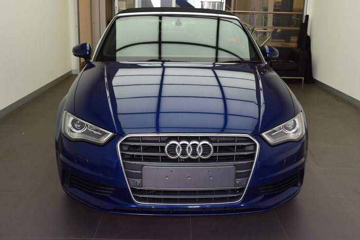 2015 Audi A3 Attraction 8V MY16 Blue