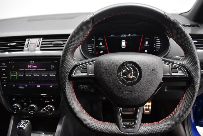 2019 SKODA Octavia RS 245 NE MY19 Blue