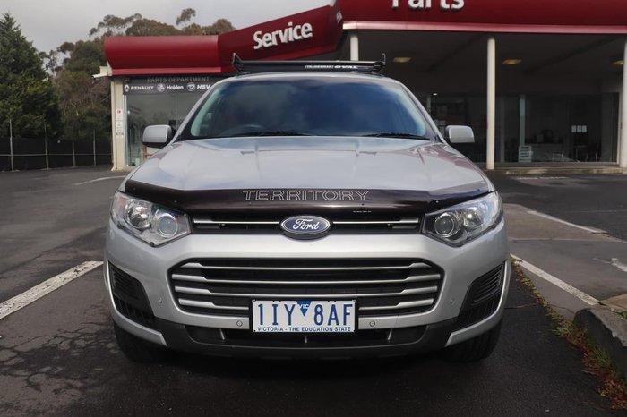 2016 Ford Territory TX SZ MkII Silver