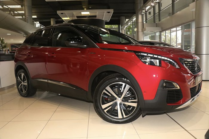 2019 Peugeot 3008 GT Line P84 MY19 Red