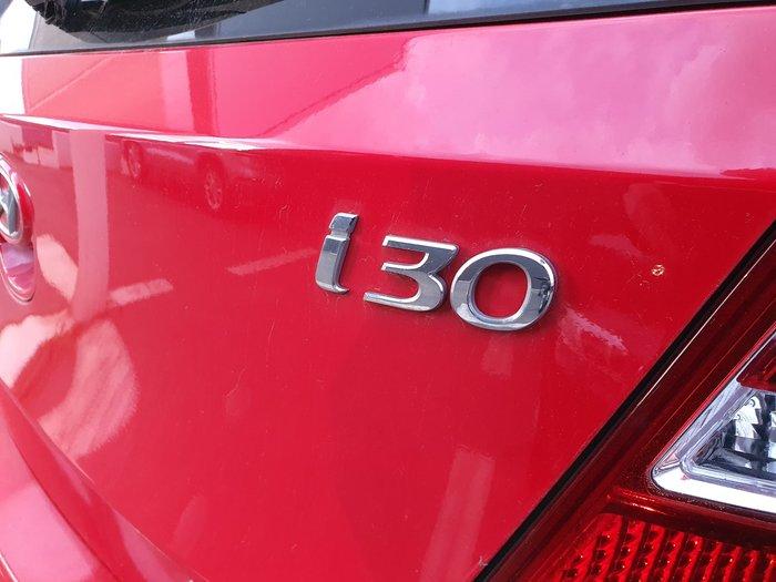 2011 Hyundai i30 SX FD MY11 Red