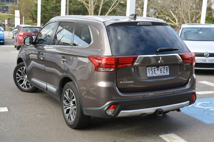 2017 Mitsubishi Outlander ES ZL MY18.5 4X4 On Demand Bronze