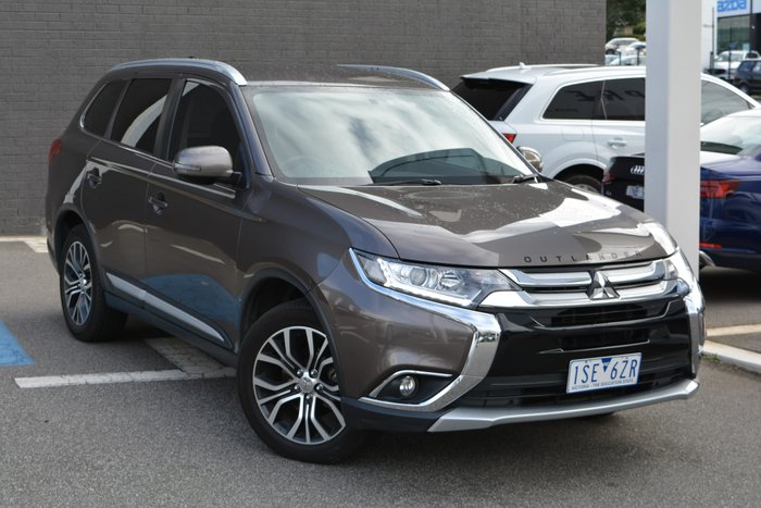 2017 Mitsubishi Outlander ES ZL MY18.5 4X4 On Demand Bronze