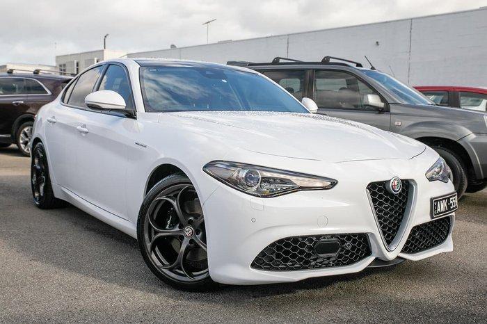 2018 Alfa Romeo Giulia Veloce (No Series) White