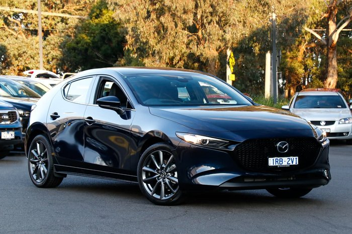 2020 Mazda 3 G20 Touring BP Series Blue