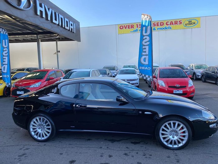 2003 Maserati Coupe M138 MY04 Black