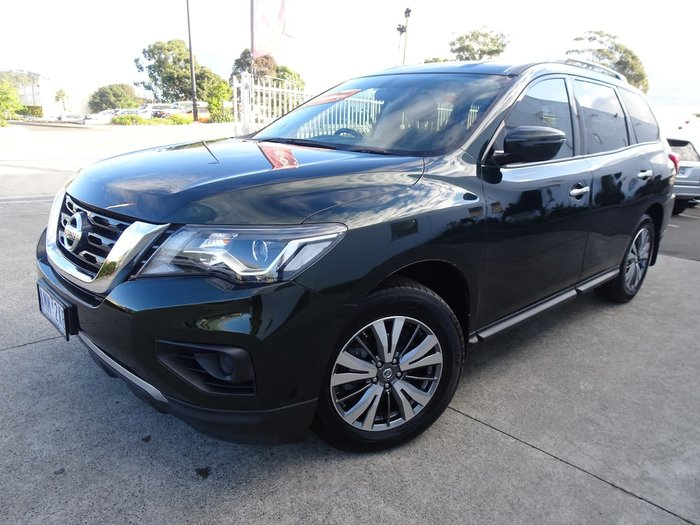 2018 Nissan Pathfinder ST R52 Series II MY17 Green