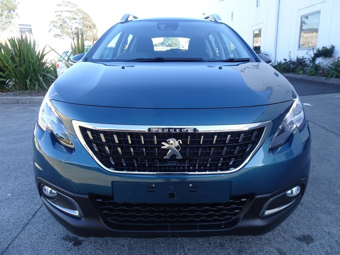 2018 Peugeot 2008 Active A94 MY18 Green