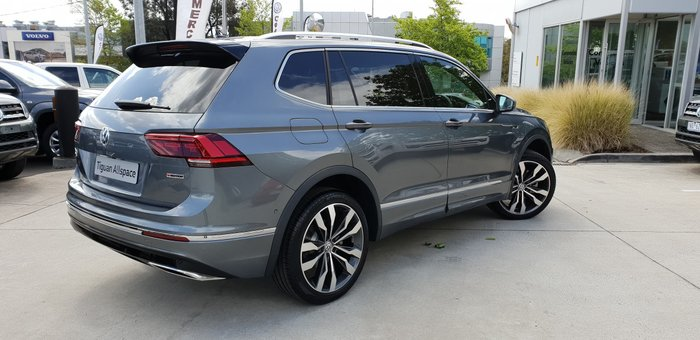 2020 Volkswagen Tiguan 162TSI Highline Allspace 5N MY20 Four Wheel Drive Platinum Grey
