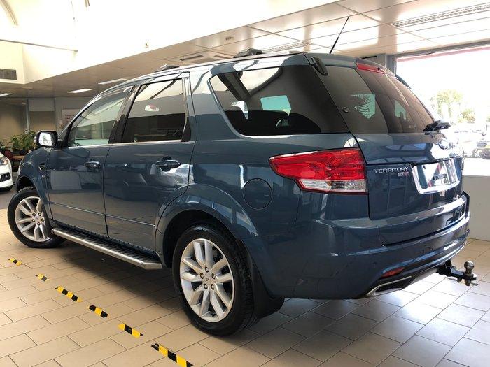 2016 Ford Territory TS SZ MkII Four Wheel Drive Blue