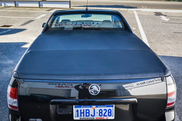 2014 Holden Ute SV6 VF MY15 Black
