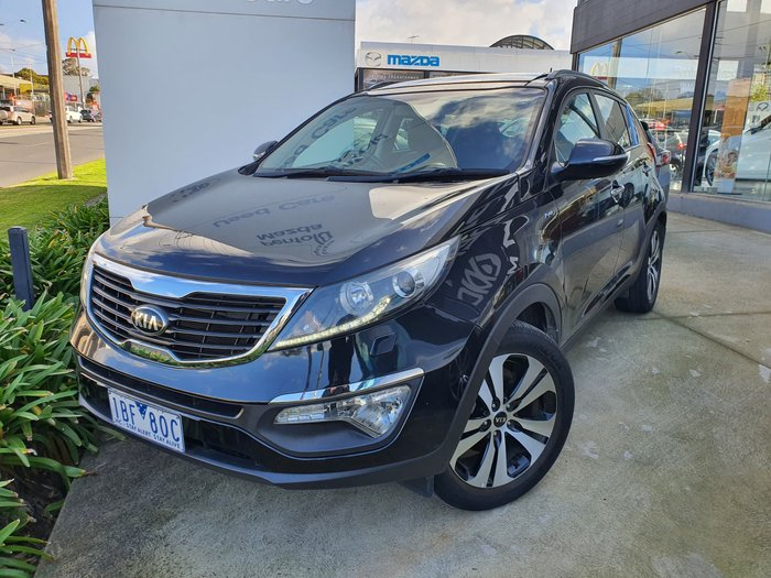 2013 Kia Sportage Platinum SL Series II MY13 4X4 On Demand Black