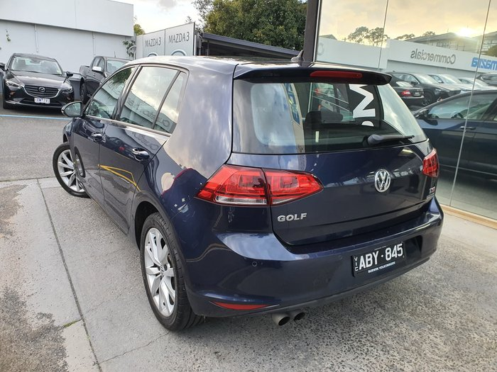2014 Volkswagen Golf 103TSI Highline 7 MY14 Blue