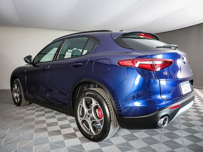 2019 Alfa Romeo Stelvio (No Series) 4X4 On Demand Blue