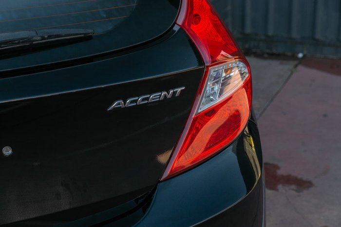 2012 Hyundai Accent Elite RB Black