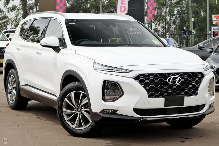 2020 Hyundai Santa Fe Elite TM.2 MY20 White