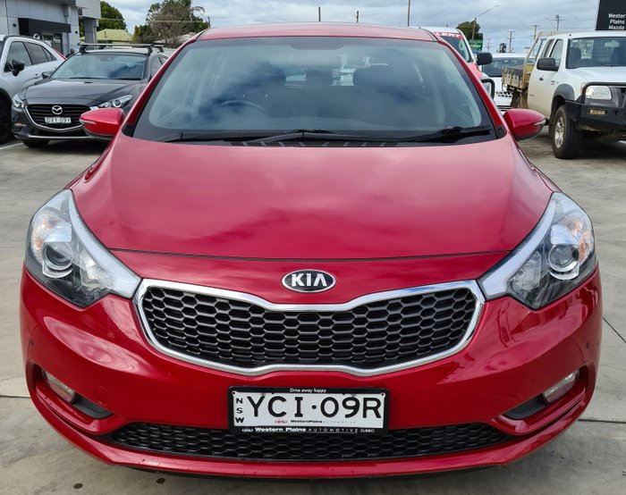 2014 Kia Cerato S YD MY14 Red