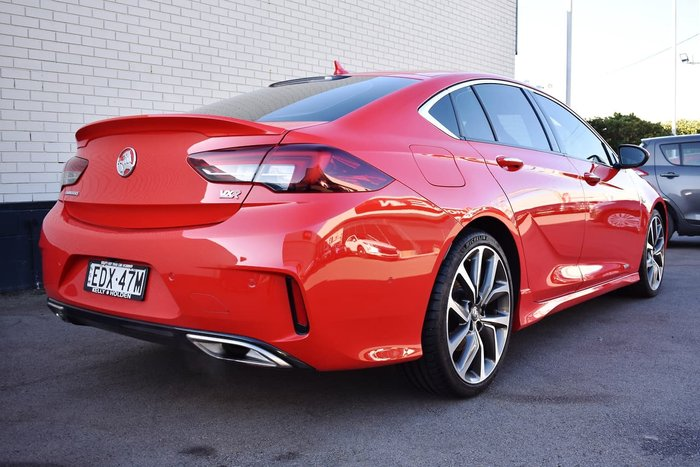 2018 Holden Commodore VXR ZB MY18 4X4 On Demand Red
