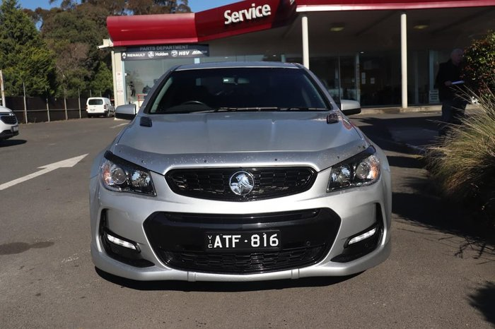 2016 Holden Commodore SV6 VF Series II MY16 Silver