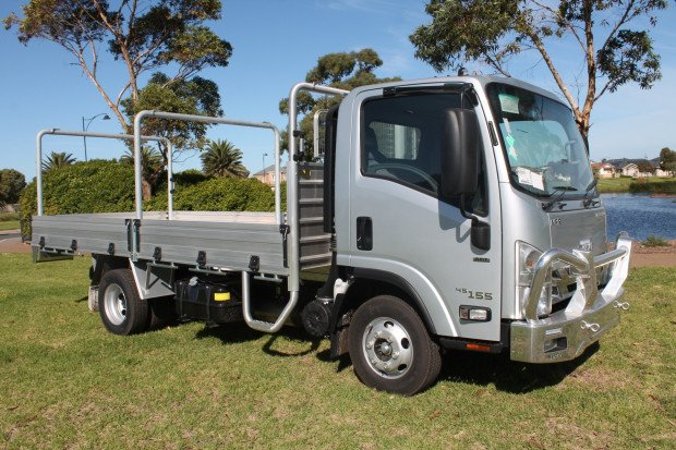 2020 Isuzu NPR 45 155 Tradepack ready to work QUICK SILVER