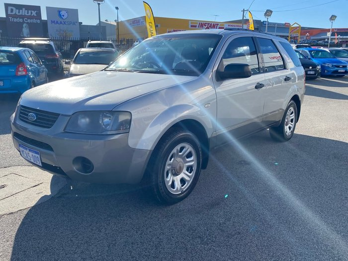 2005 Ford Territory TX SX Silver