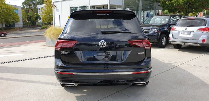 2020 Volkswagen Tiguan 162TSI Highline Allspace 5N MY20 Four Wheel Drive Black
