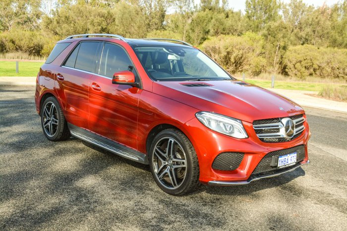 2015 Mercedes-Benz GLE-Class GLE350 d W166 Four Wheel Drive Red