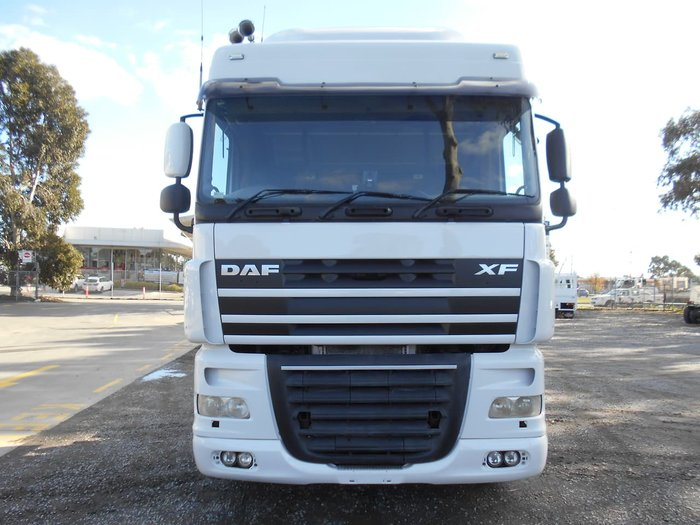 2013 DAF XF105 null null White