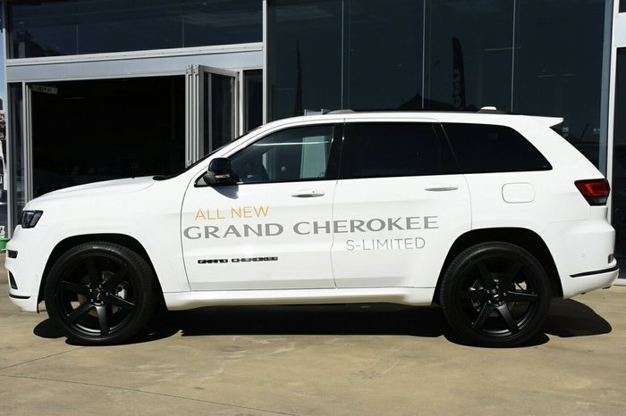 2020 Cjd Grand Cherokee S-LIMITED 4x4 3.0L T/D 8SpdAuto Wag 4WD Bright White