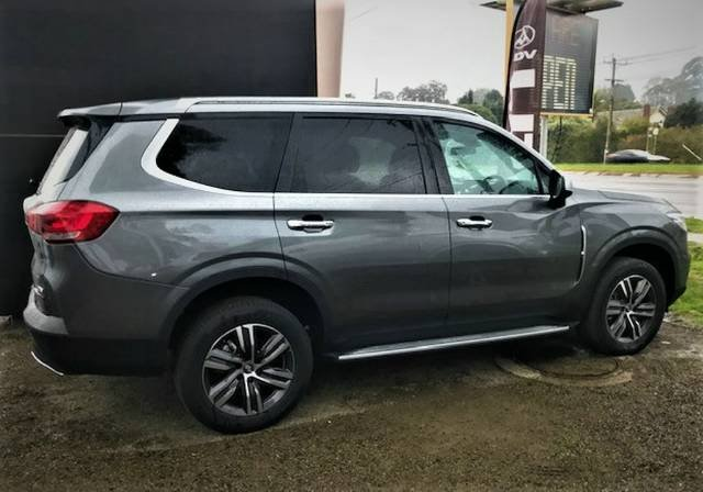 2020 LDV D90 Executive SV9A 4X4 Dual Range METAL ASH