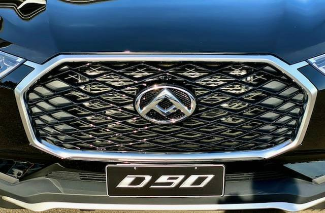 2020 LDV D90 Executive SV9A 4X4 Dual Range METAL BLACK