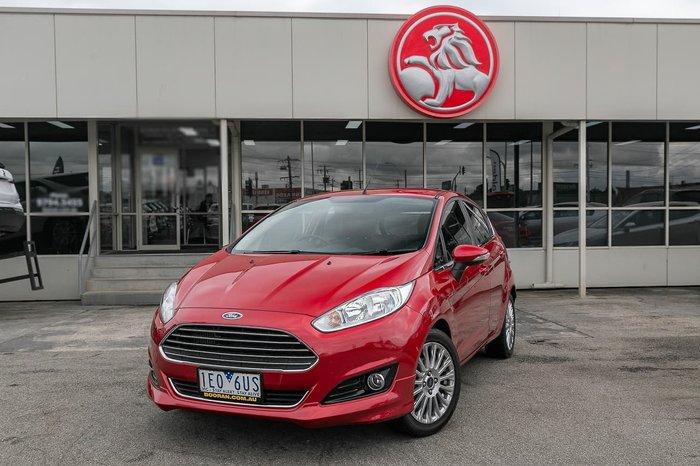 2015 Ford Fiesta Sport WZ MY15 Red