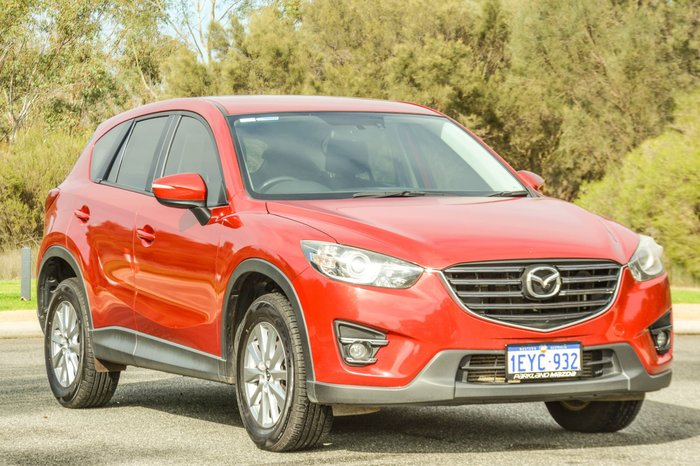 2015 Mazda CX-5 Maxx Sport KE Series 2 4X4 On Demand Red