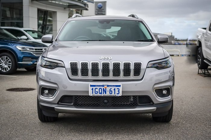 2018 Jeep Cherokee Limited KL MY19 4X4 On Demand Silver
