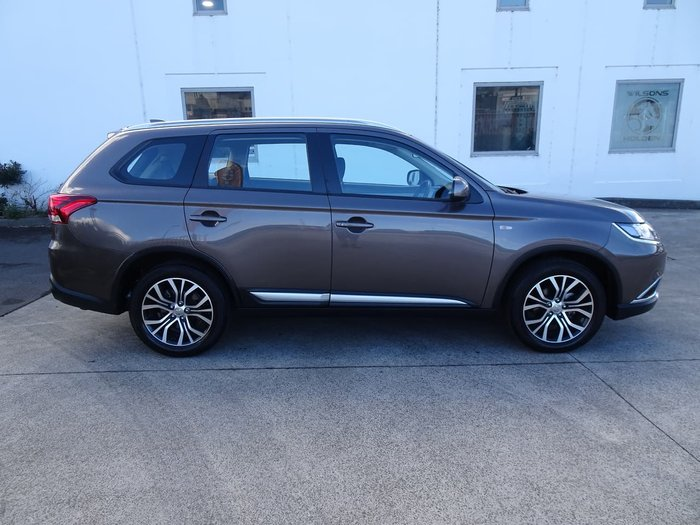 2017 Mitsubishi Outlander ES ZL MY18.5 Brown