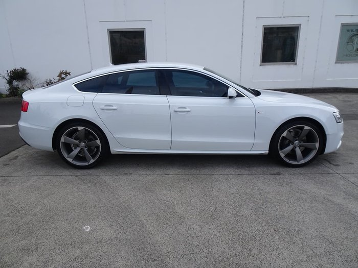 2015 Audi A5 8T MY16 Four Wheel Drive White