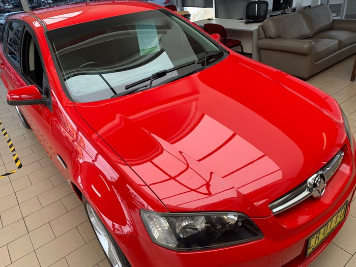 2010 Holden Commodore International VE MY10 Red