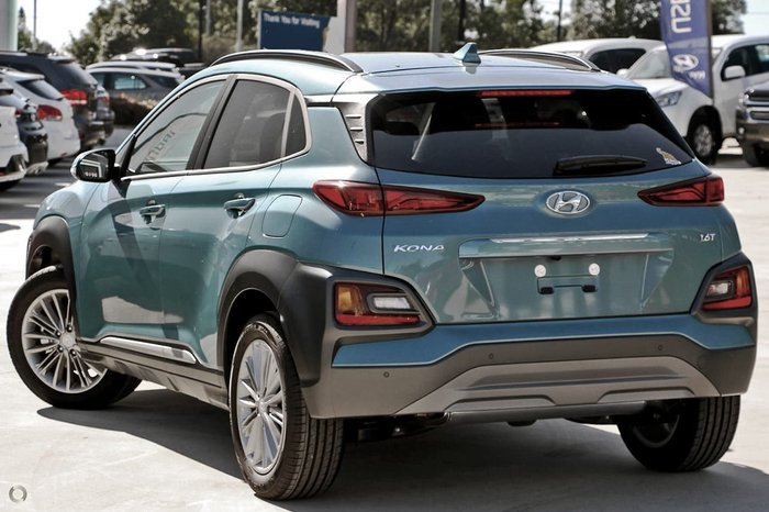 2019 Hyundai Kona Elite OS.3 MY20 4X4 On Demand Blue