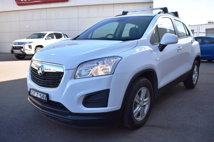 2016 Holden Trax LS TJ MY16 White