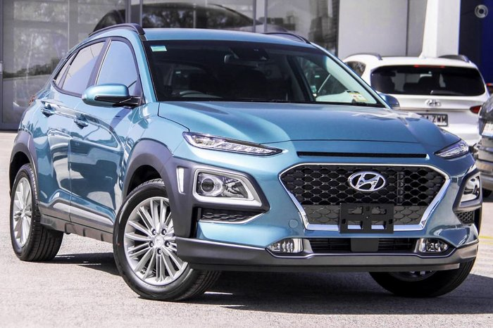 2020 Hyundai Kona Elite OS.3 MY20 Blue
