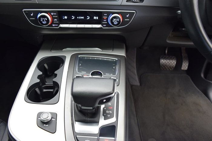 2015 Audi Q7 TDI 4M MY16 Four Wheel Drive White