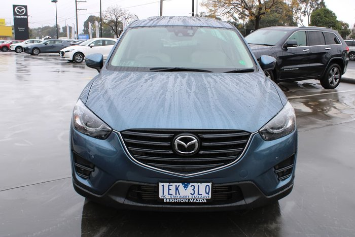 2015 Mazda CX-5 Akera KE Series 2 4X4 On Demand Blue