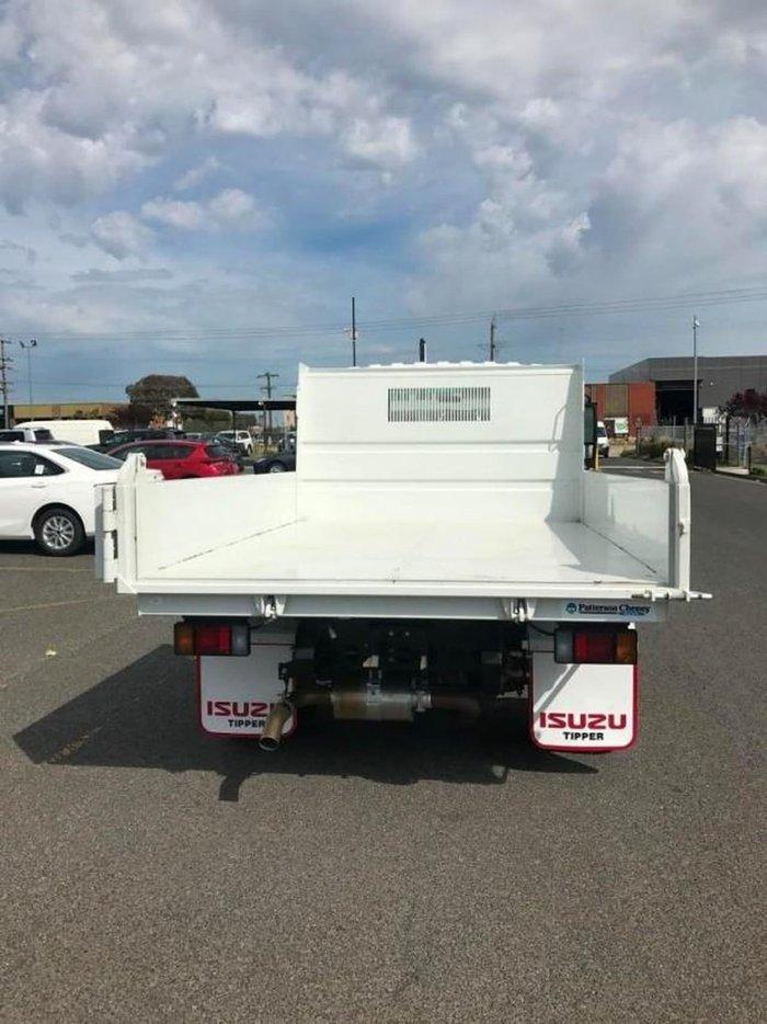 2020 ISUZU NPR 45/55-155 SWB MANUAL TIPPER White